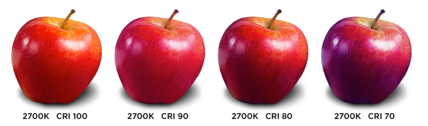 Color Rendering Index food