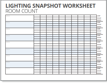 Room Count Worksheet small