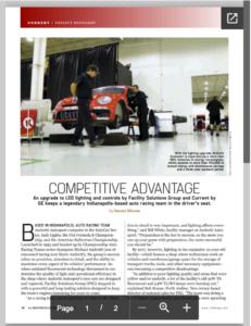 Andretti Lighting TED Magazine article