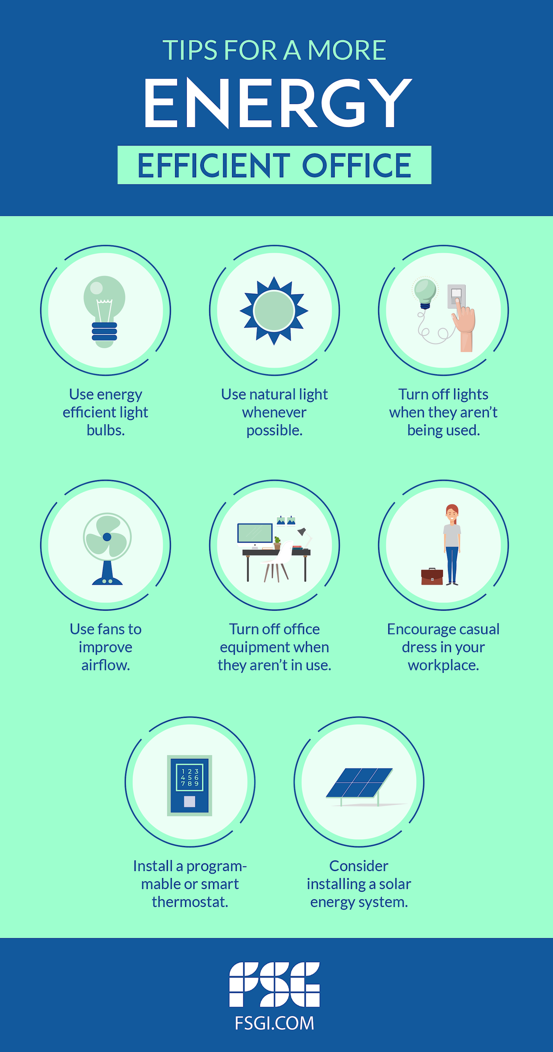 Energy Efficient Office Tips
