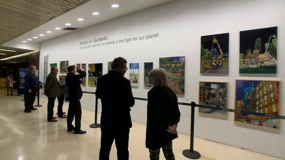 Earthweek Art Exhibit NYC