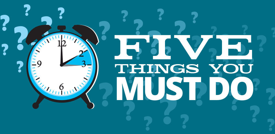 Five Things Banner