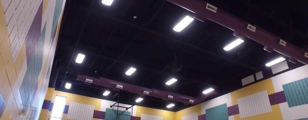 Gym Lighting incentives
