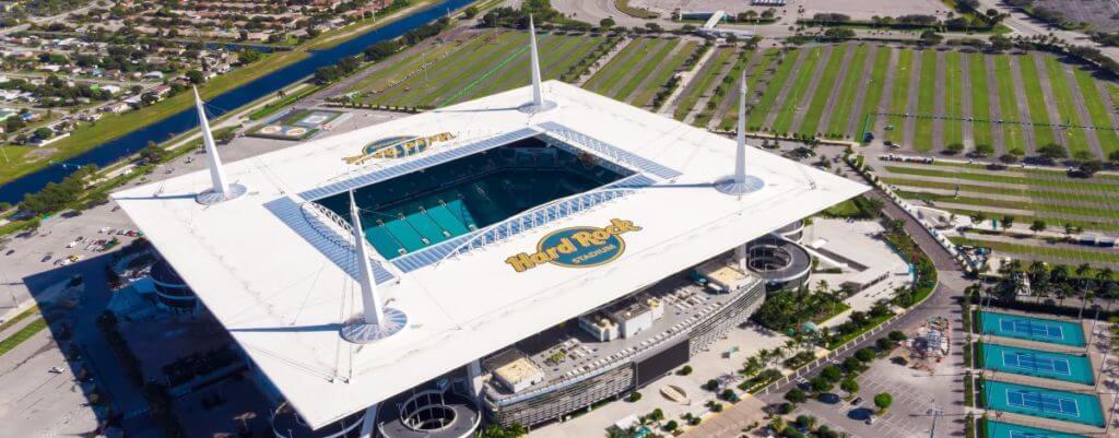 Hard Rock Stadium technology