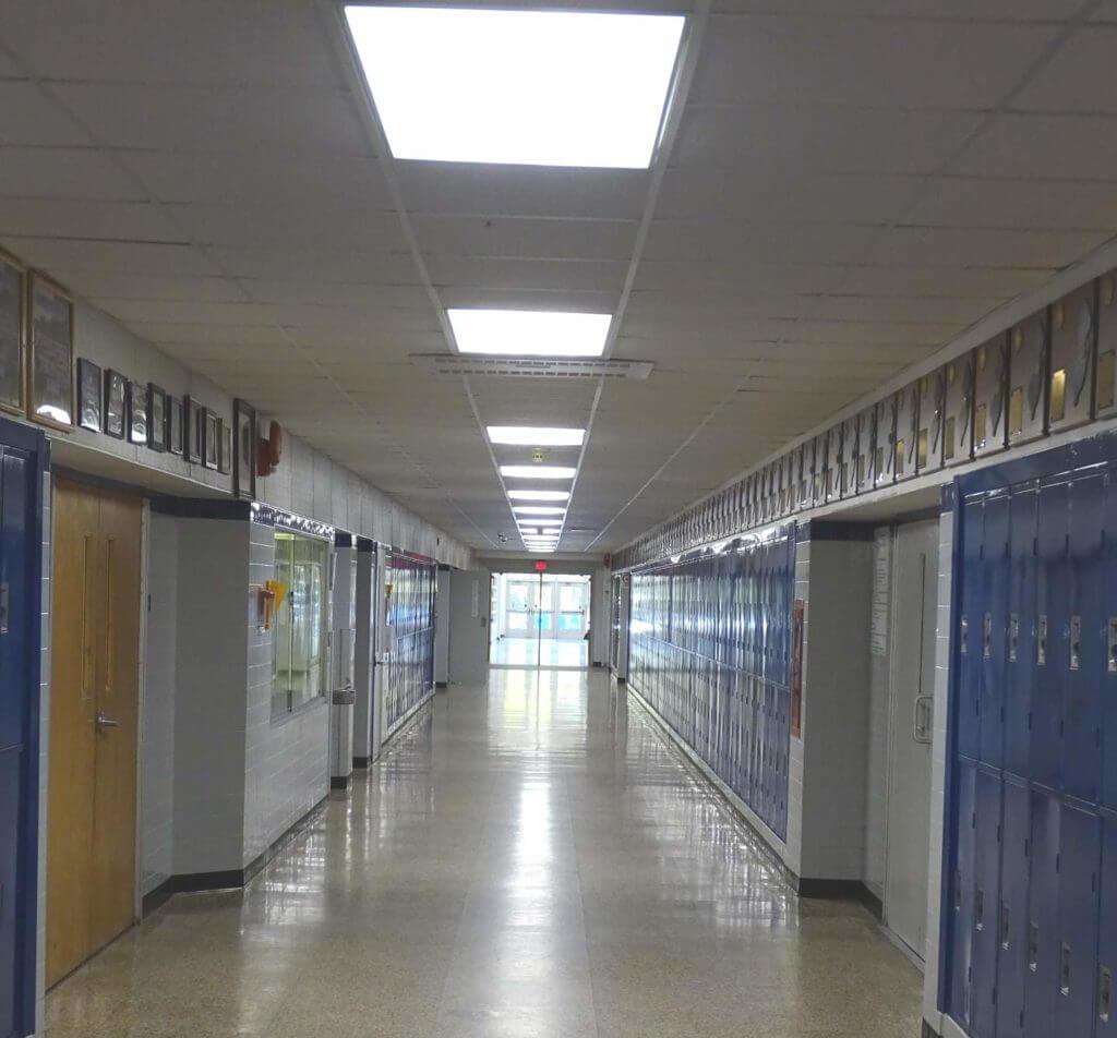 Howell HS Hallway