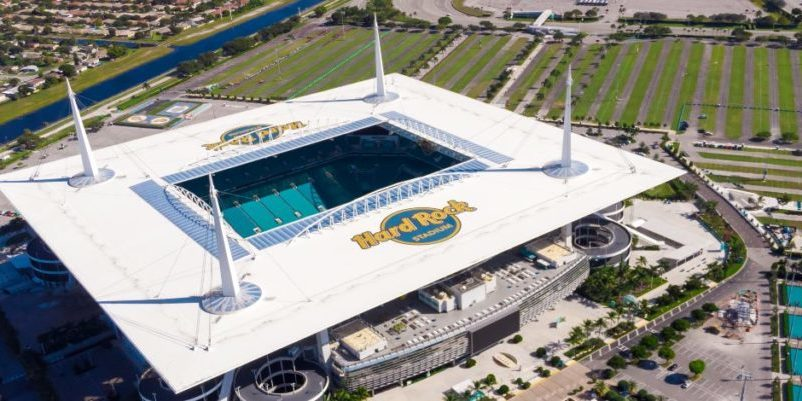 Hard Rock Stadium technology